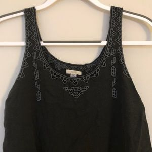 Urban Outfitters Ecoté Embroidered Crop Top